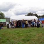 Stand Conservatoire des Sites Naturels Bourguignons et de la Ligue de Protection des oiseaux