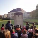 Une stèle dévoile les souvenirs des combats qui opposèrent les prussiens et les français au XIXème siècle