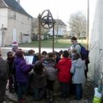 Le puits du château de Pouilly