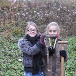 Equipe marais - les filles à la tarrière