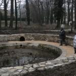 Rénovation du bassin rond