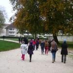 Jeu de piste dans le parc du château de Pouilly
